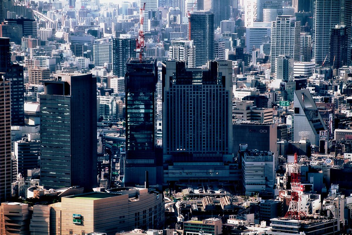 なんばスカイオとスイスホテル南海大阪