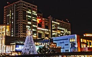 フジテレビとクリスマスツリー@BRIGHT CHRISTMAS