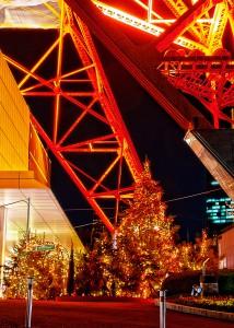 東京タワーのクリスマスツリー@BRIGHT CHRISTMAS