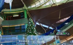 羽田空港のANAクリスマスツリー@BRIGHT CHRISTMAS