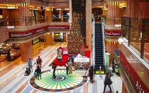 羽田空港のJALクリスマスツリー@BRIGHT CHRISTMAS