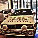 1984年のサファリラリーで優勝したセリカTA64@HISTORY GARAGE